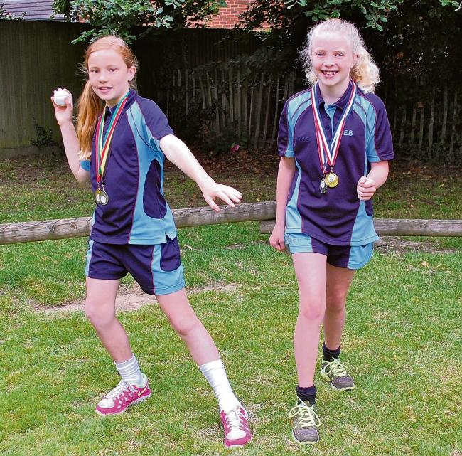 Stars of the future – Isobel Moore and Emma Bateman