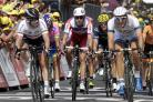 A familiar site - Cavendish (left) vs Marcel Kittel (right) in a sprint finish could be on the cards