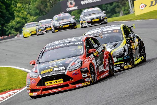 Echo: Dave Newsham will be aiming to score points in the AmDTuning Ford Focus this week