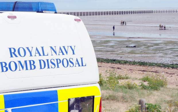 Gunners Park on lock down as more ordnance found