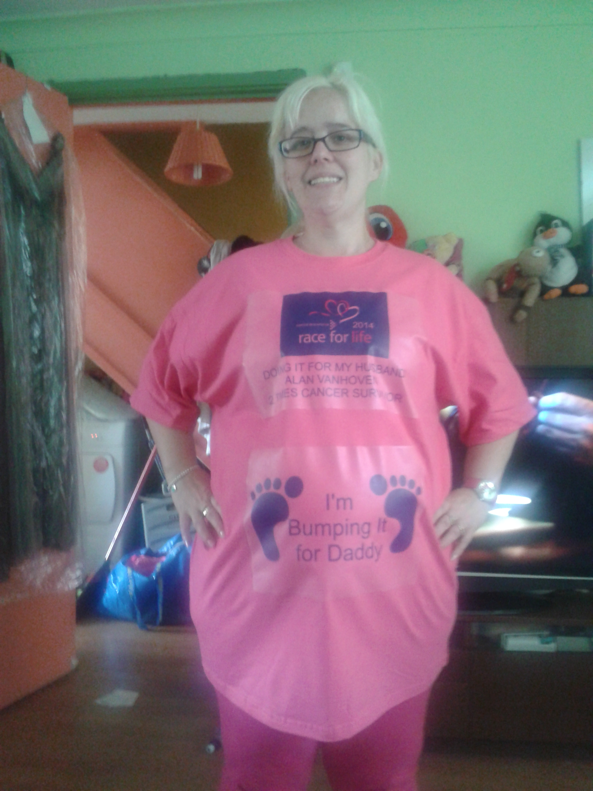 Special T-shirt – Kerry is taking part for a third time