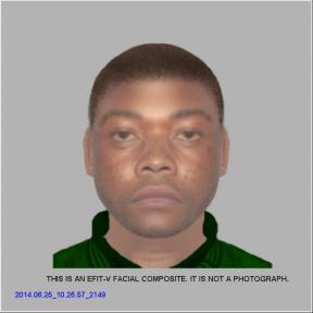 Robber – the electronic image of the raider issued by the police