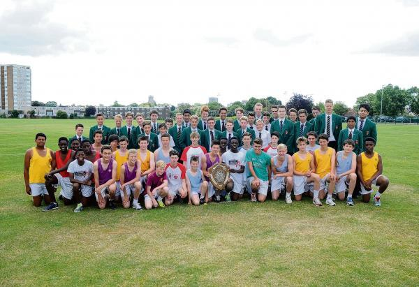 Southend High School for Boys retain athletics title
