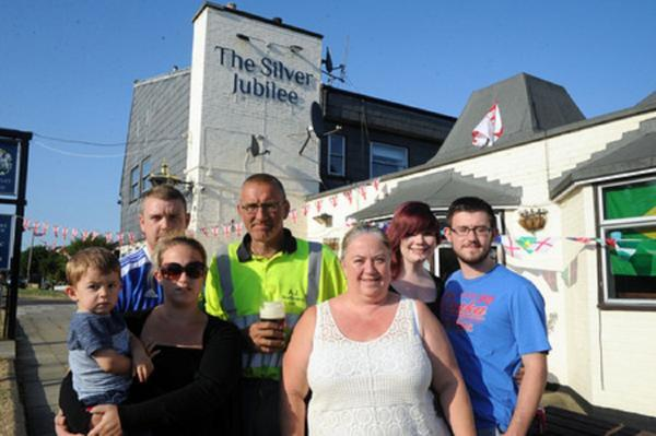 Family homeless after firm closes down pub