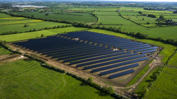 A solar farm like this could be part of the Billericay landscape