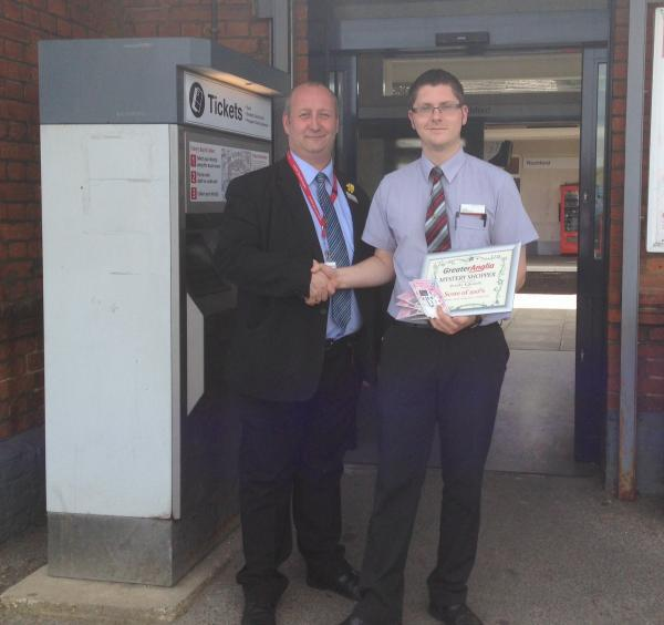 Greater Anglia employees praised for their customer service