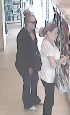 Women steal cosmetics worth £500 in double theft