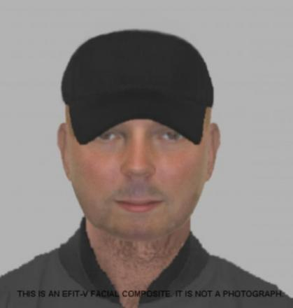 Police release e-fit of passenger who attacked driver