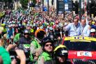 More than a million people watched Stage One on the roads of Yorkshire