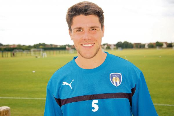 Dan Holman has signed for Colchester United