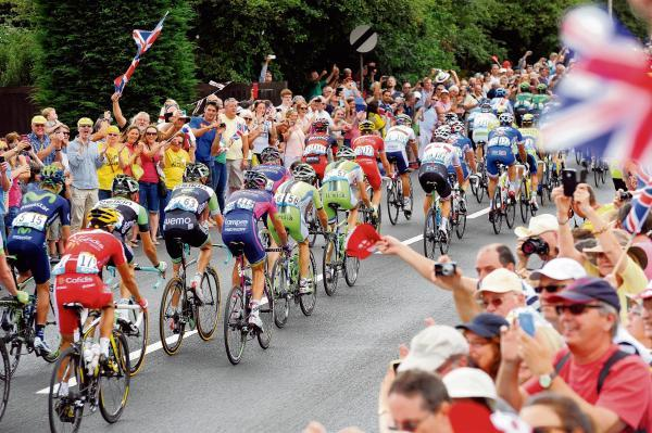 The Tour de France sweeps through Chelmsford