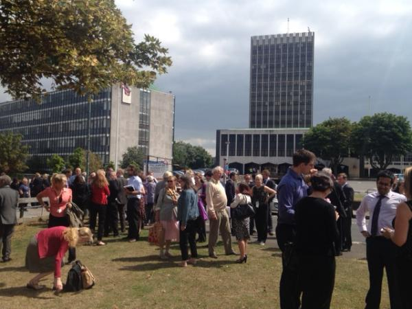 Council centre evacuated