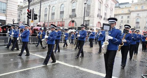 Essex Marching Corps are off to Jersey's Battle of the Flowers