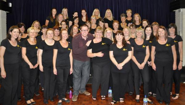 On song – the Hands 4 Voices Singing Choir