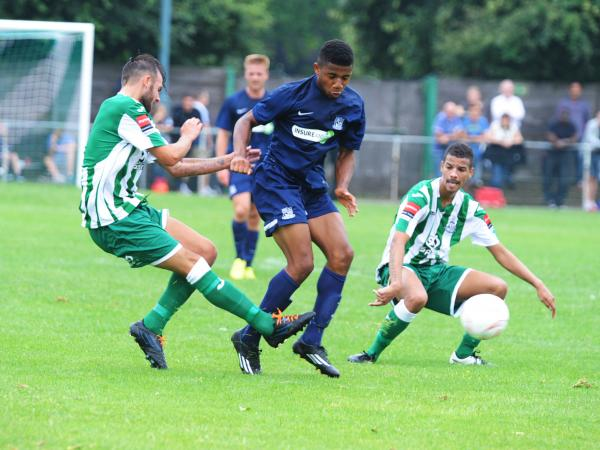 Ellis Brown - on target for Southend United