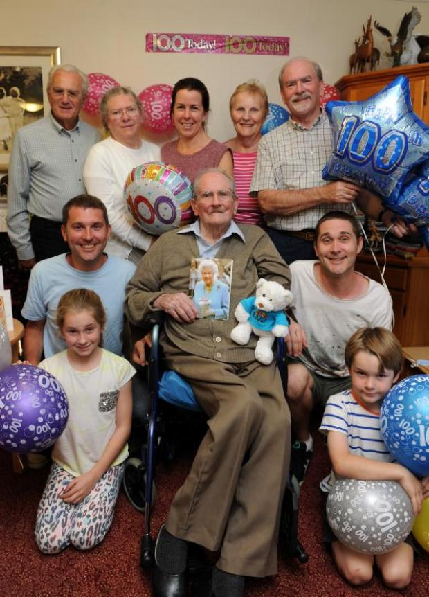 Echo: Celebration – Raymond Creasey is joined by his family