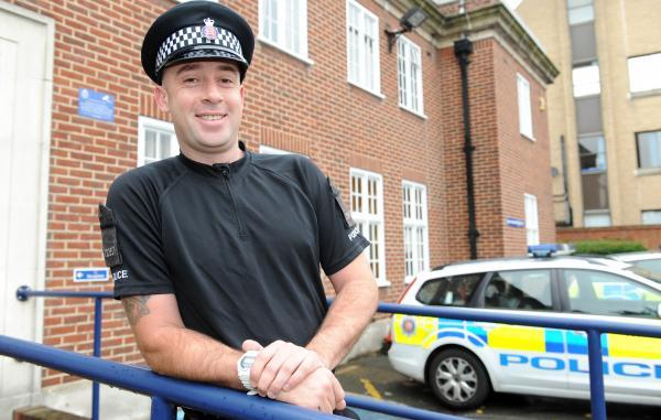 Big-hearted Dan is a very special constable