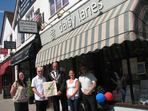 Daisy Lanes won best dressed window in Rayleigh