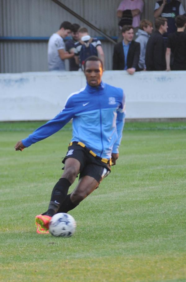 Gavin Hoyte - on trial at Southend United
