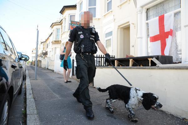 Residents' relief over Southend raid blitz