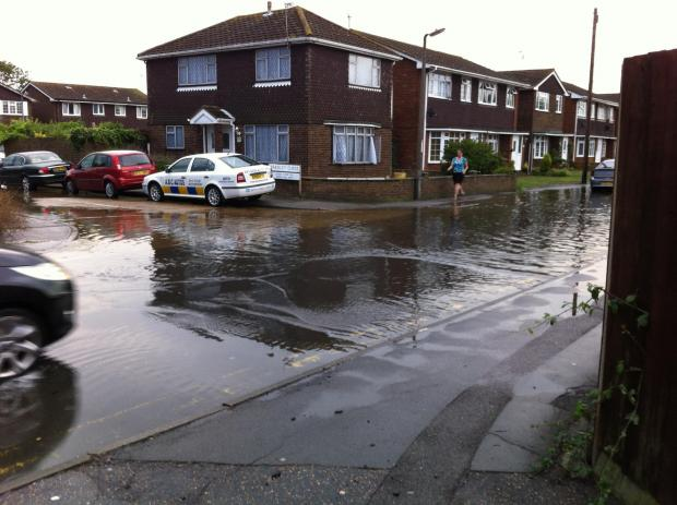 Reader pic: Canvey flood