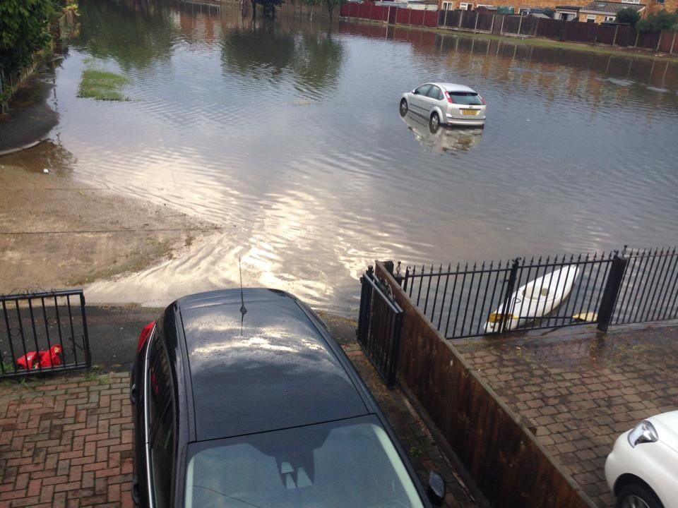 Reader picture: Flooding on Canvey