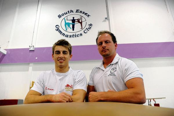 Gold ambition - Max Whitlock and coach Scott Hann