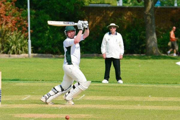 Aaron Lucas batting for Southendian