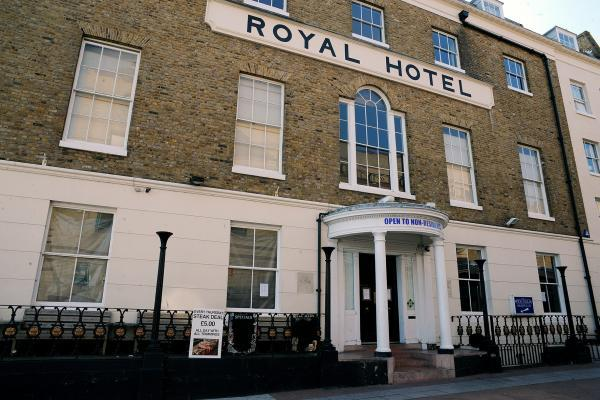 Bailiffs shut down historic Royal Hotel