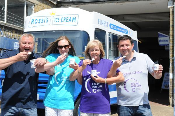 Record attempt: Rossi Ice Cream