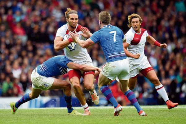 England were booed in their rugby sevens match against Scotland