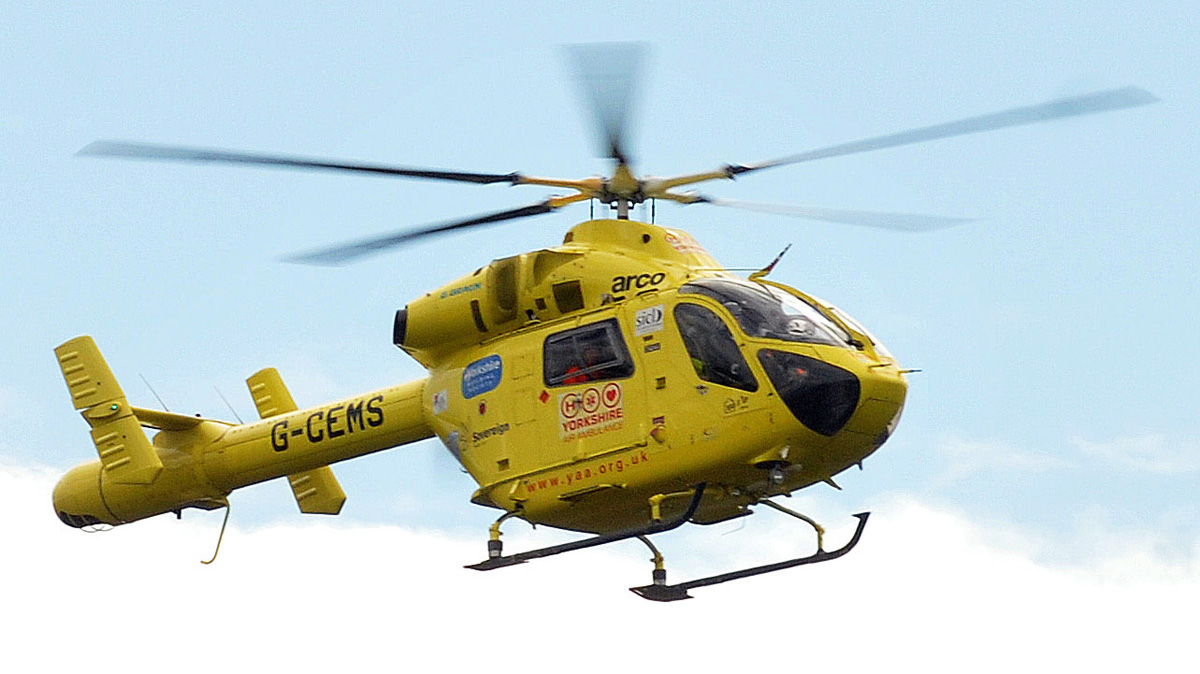 Man airlifted to hospital after being taken ill in Southend