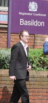 Death threats – Pentecostal minister Lee Stephens outside court on Friday