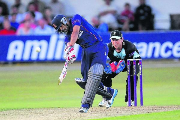 Ravi Bopara - on tour with England Lions