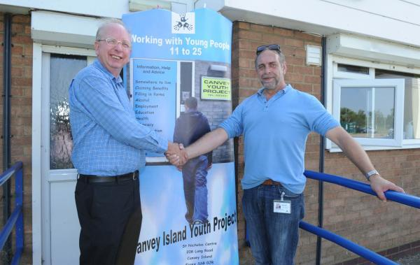 Refurbished youth centre open again