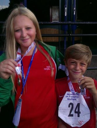 Siblings compete for transplant gold
