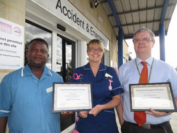 Praise for the heroes of hospital's A&E flood