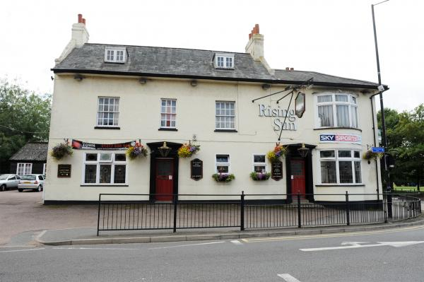For sale – the Rising Sun, at Sun Corner, Billericay, opened in 1810