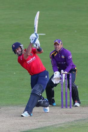 Essex captain Ryan ten Doeschate was delighted to have made the quarter-finals. Picture: Gavin Ellis/TGS Photo