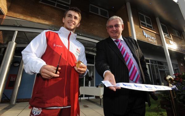 Sporting star Max opens housing complex