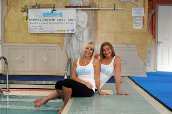 Mum's swim school in running for best in Essex title