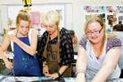 Masterclass – learn about costume design from Lesley Ford, centre
