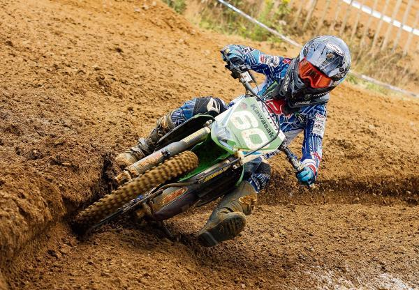 Dylan Woodcock in motocross action - PIC Eric O'Brien