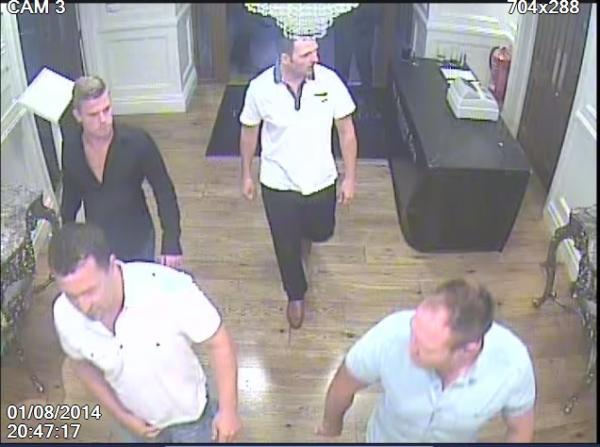 Police want to speak to these men after singles night brawl