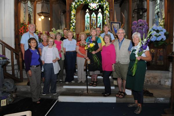 Flower power – floral festival arrangers hope to raise cash for the appeal