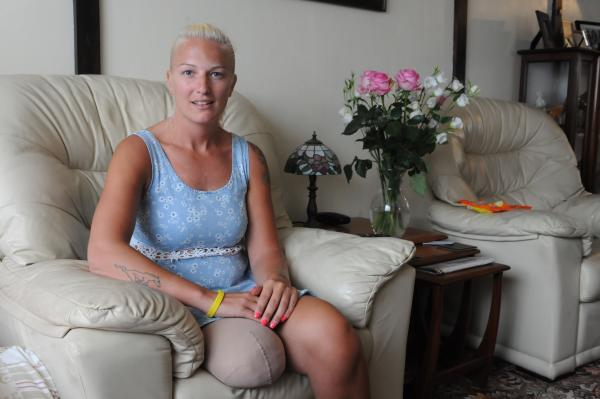 So positive – but Kerry is disappointed she is not entitled to benefits during her rehabilitation