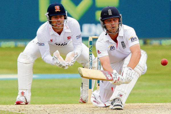 Ben Foakes keeping wicket for Essex against England last year. PIC:GAVIN ELLIS/TGS PHOTOS