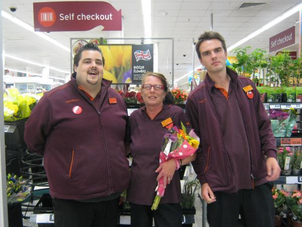 Long-serving Gill marks her 35th year at store