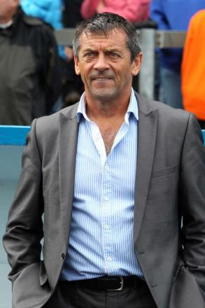 Phil Brown - saw his side draw 1-1 at Carlisle United on Saturday