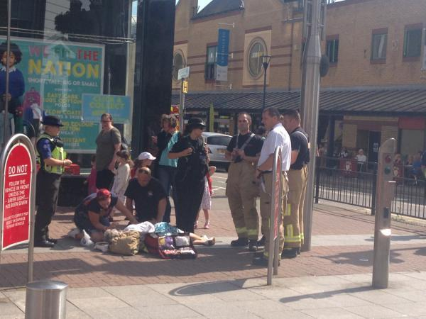 Fire service helps woman during 90-minute wait for ambulance